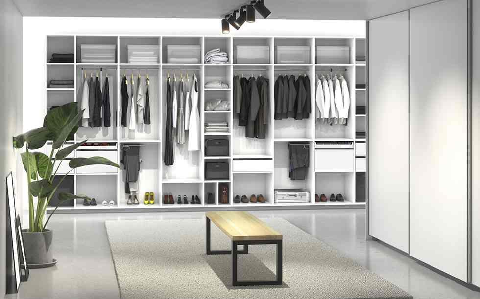 Kleiderschranke Nach Mass Kleiderschrank Konfigurieren Und Gestalten