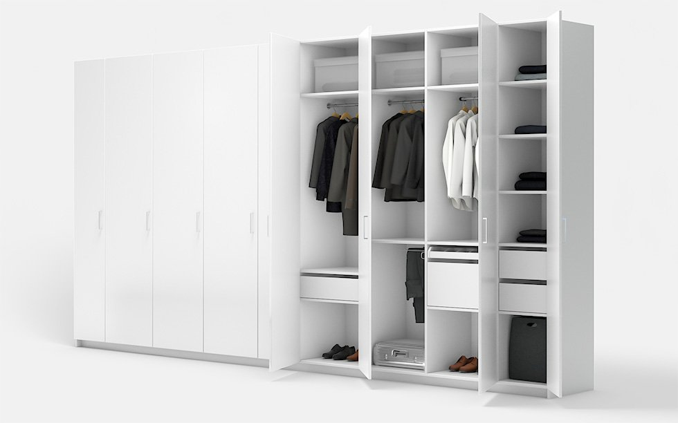 Custom Wardrobe Cabinets Design Online With Pickawood