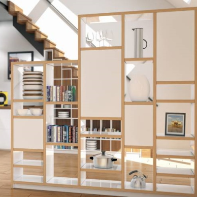Custom Room Divider Bookcases And Shelves Pickawood