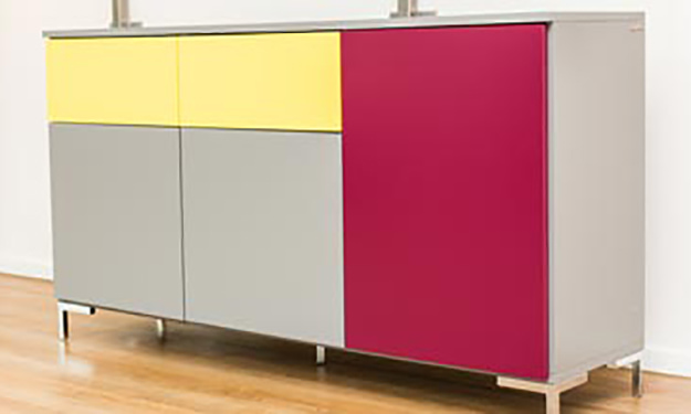 Kofigurator sideboards with protrouding tops