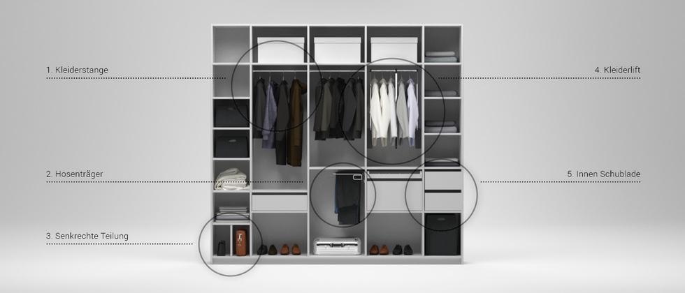 schrank konfigurator schr nke nach ma online planen. Black Bedroom Furniture Sets. Home Design Ideas