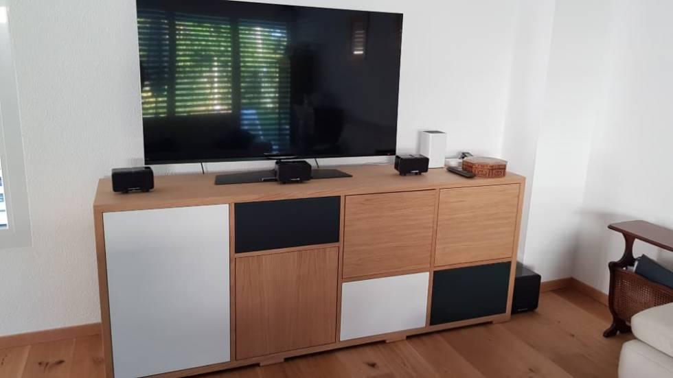 Meuble tv sur mesure durable de qualit et au juste prix - Meuble tv ascenseur ...