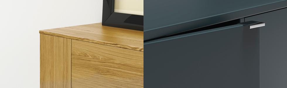 sideboard 30 cm tief sideboards mit individueller tiefe. Black Bedroom Furniture Sets. Home Design Ideas