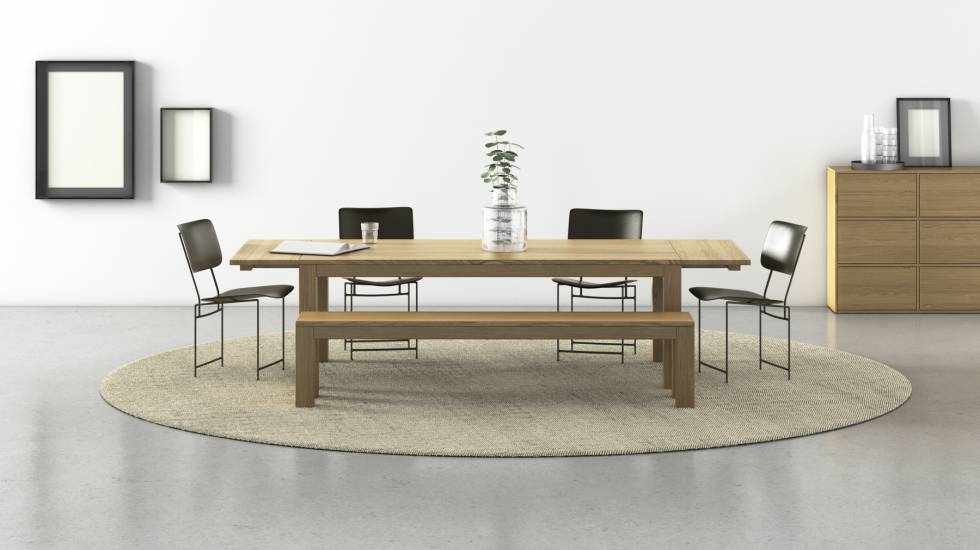 Custom Tables Made To Measure From Solid Wood By Pickawood