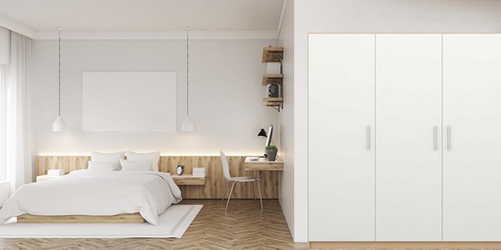 Design your own corner wardrobe