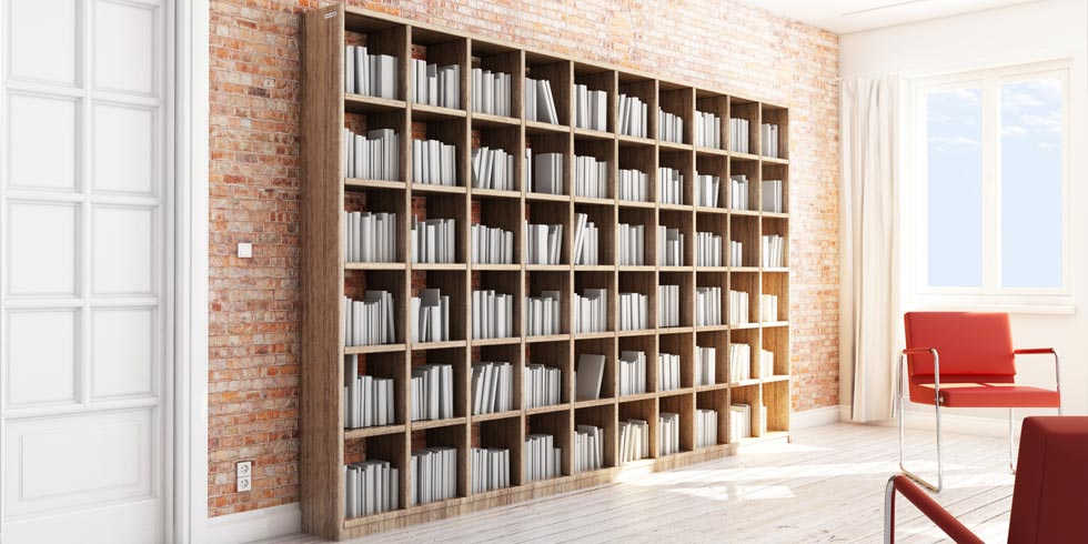 Shelves Built To Measure In Solid Wood Or Mdf