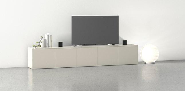 Meuble Tv Sur Mesure Durable De Qualite Et Au Juste Prix