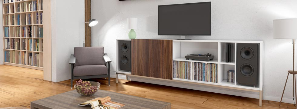 tv wand aus massivholz online g nstig bestellen. Black Bedroom Furniture Sets. Home Design Ideas